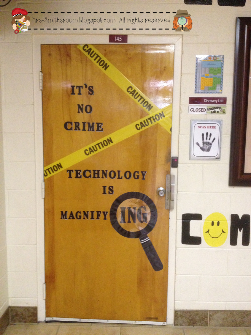 Mrs. Smith's Room: Computer Lab Makeover