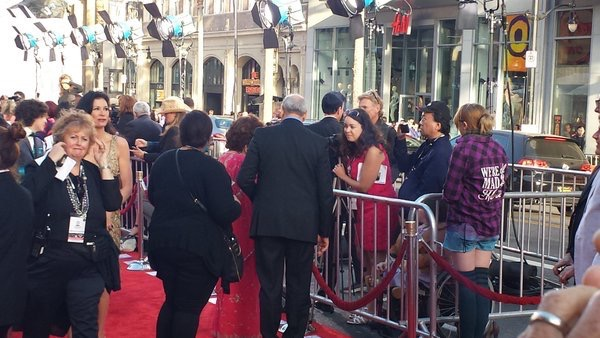Raquel Stecher & Gina Lollobrigida 2016 TCM Classic Film Festival Red Carpet