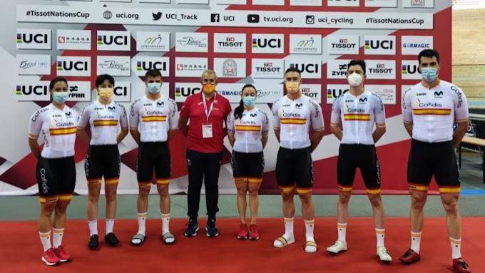 La Selección Española de pista afronta la Copa de las Naciones con ilusión