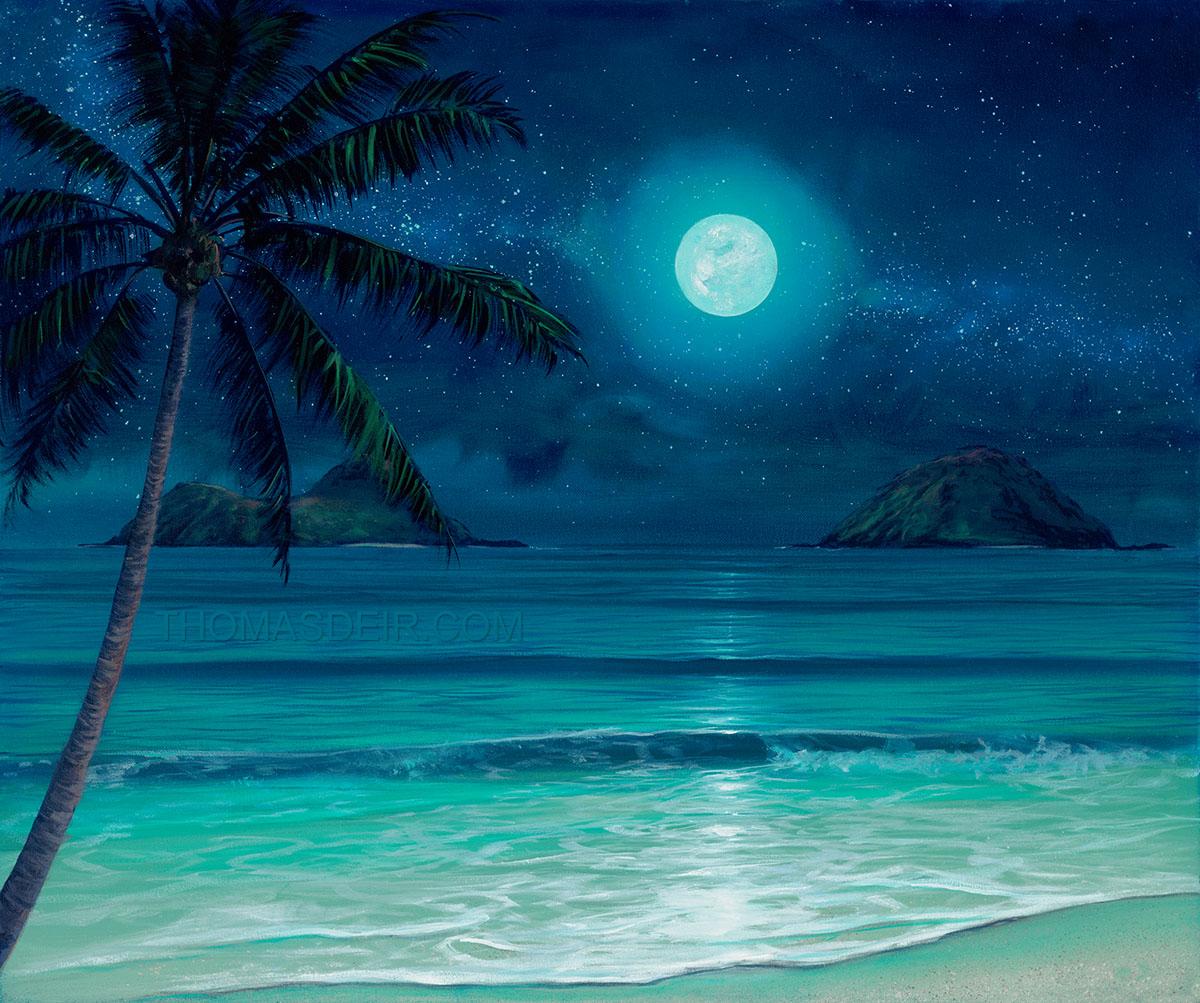 Famous Beach Hut Paintings