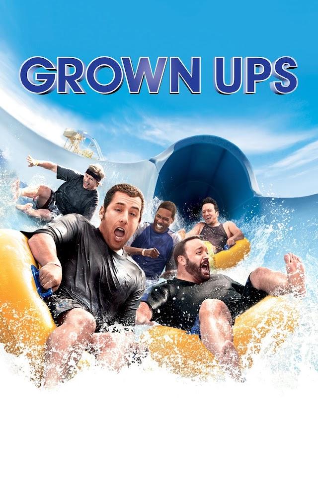 Grown Ups 2010 x264 720p Esub BluRay Dual Audio English Hindi THE GOPI SAHI