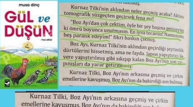 Έλεος... Παιδικό βιβλίο στην Τουρκία, διδάσκει πως να βιάζεις για εκδίκηση..!!!