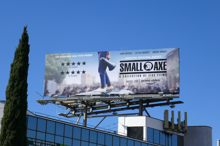 Small Axe Amazon Prime Video billboard