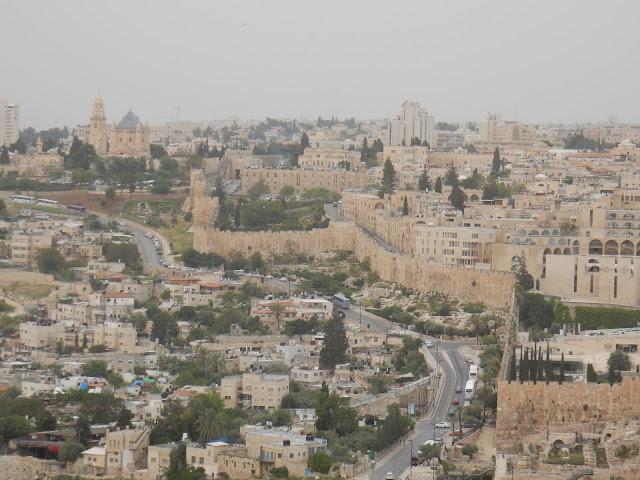 Monte de los Olivos, Getsemaní, Jerusalem, Israel, Elisa N, Blog de Viajes