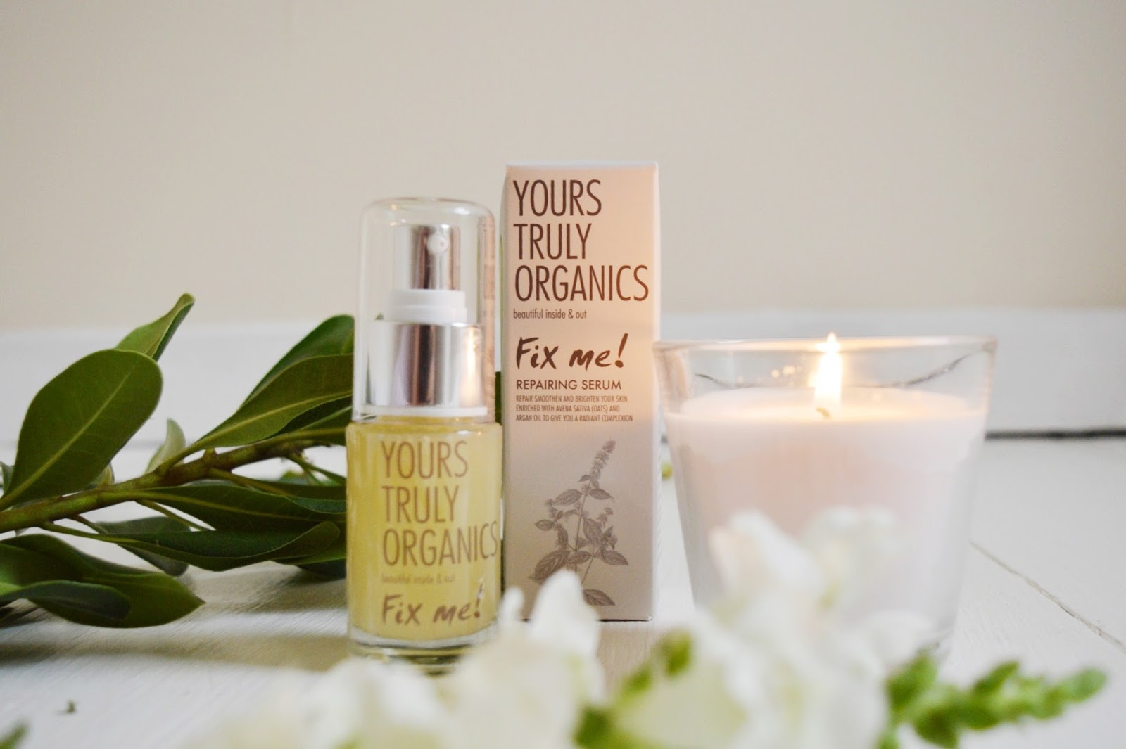 Yours Truly Organics Fix Me serum, FashionFake, beauty bloggers, organic beauty products