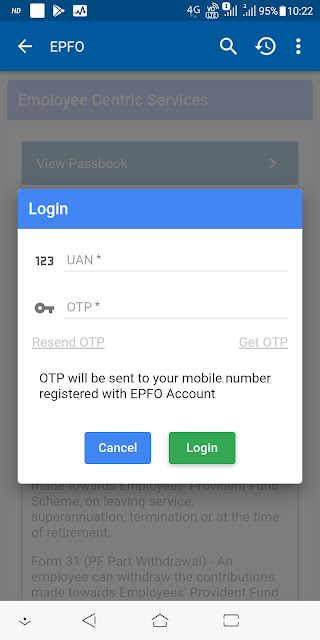 How To PF Balance Check With UAN Number In Your Android Phone