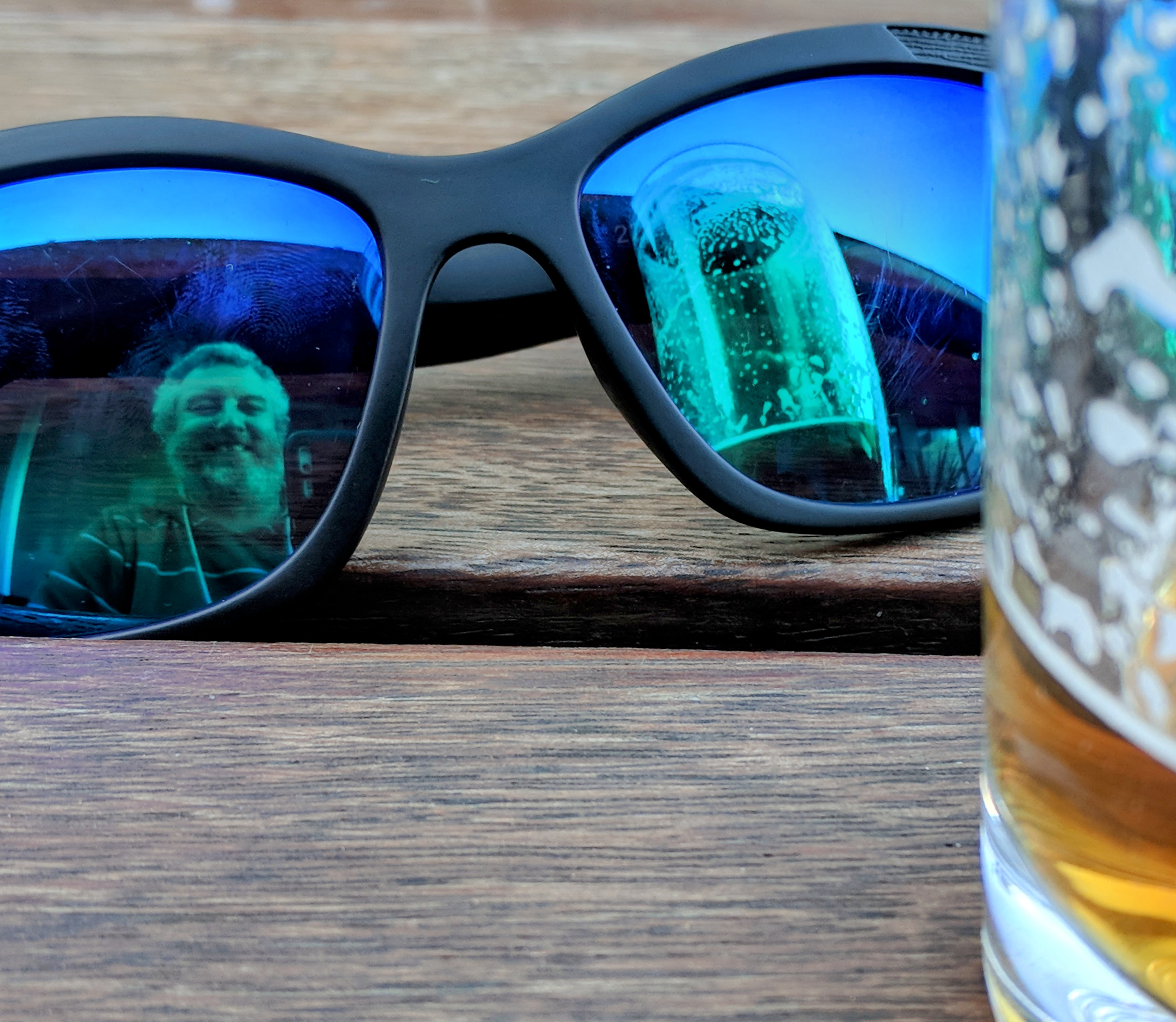 Reflecting Upon A Beer