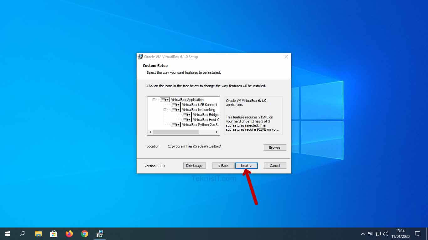 Cara menginstal VirtualBox