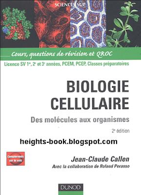 Télécharger Livre Gratuit Biologie cellulaire Des molécules aux organismes pdf