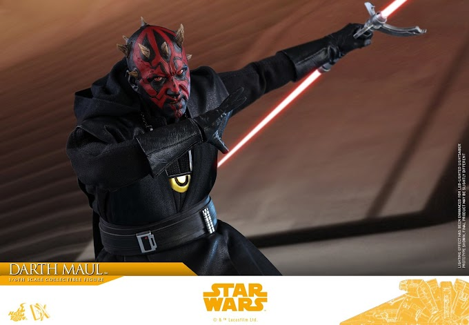 Hot Toys revela su espectacular figura de Darth Maul en la película Solo: Una Historia de Star Wars