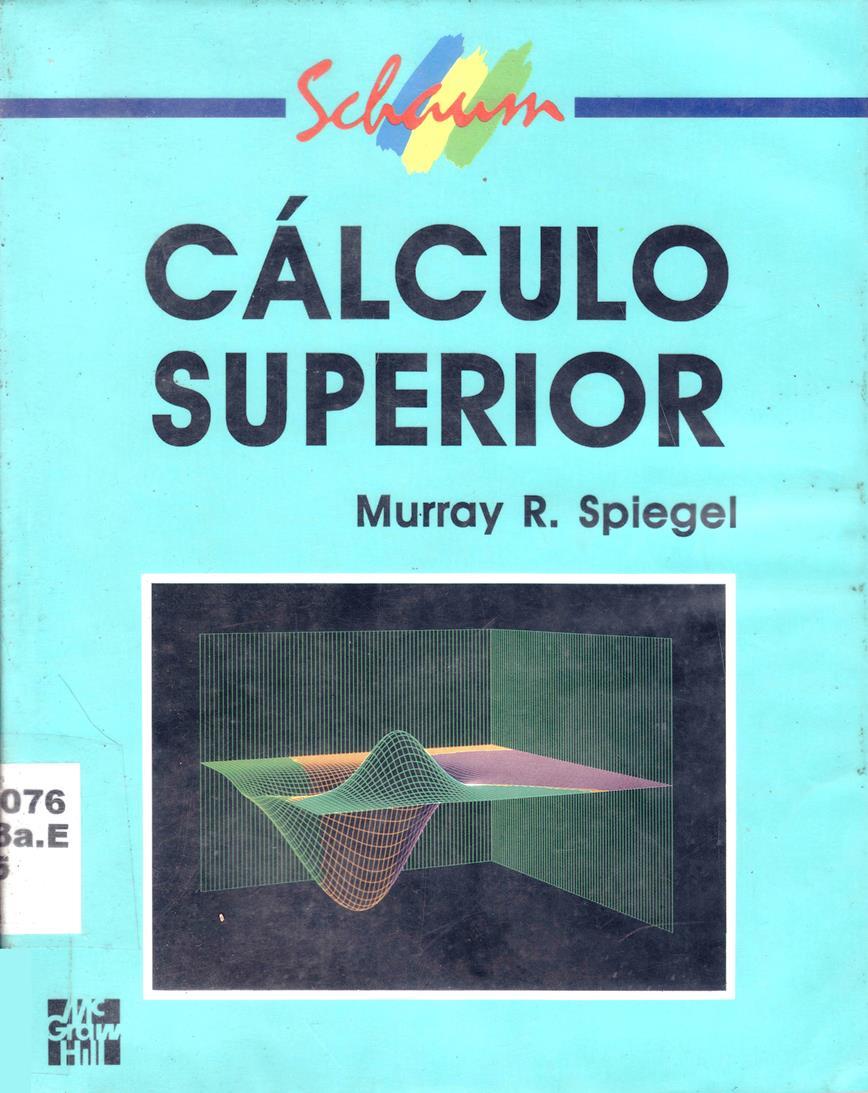 Cálculo Superior – Murray R. Spiegel