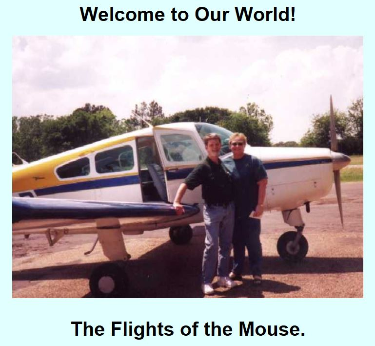 Flights of the Mouse