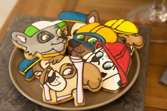 biscoito decorado patrulha canina