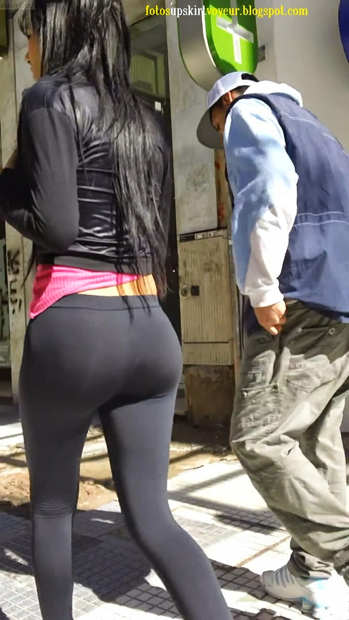 Sexy Girls In Spandex Pants