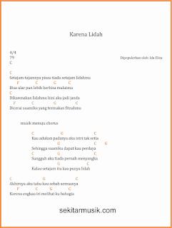 chord karena lidah lagu dangdut ida eliza