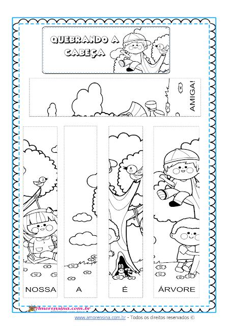 1º ano, Educação Infantil, Dia da árvore 1 ano, Dia da árvore educação infantil, Ciranda do dia da árvore, Alfabetizar com amor, Amorensina,