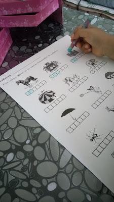 compter syllabes fiche maternelle école à la maison ief