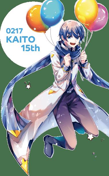 kaito birthday