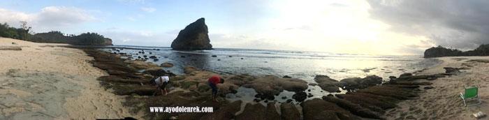 Pantai Ngudel, Malang, Jawa Timur