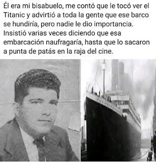 Mon rebisyayo y lo Titanic