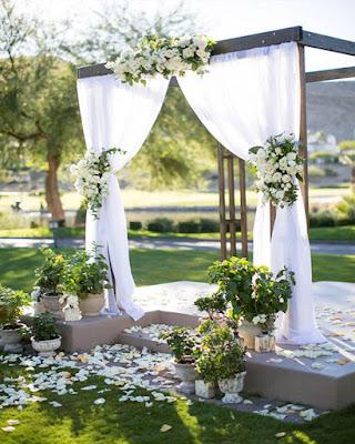 Capilla matrimonial decoracion