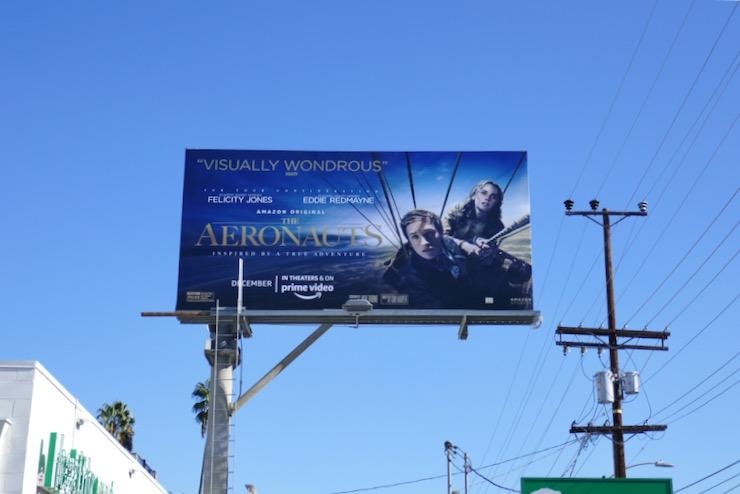 Aeronauts film billboard