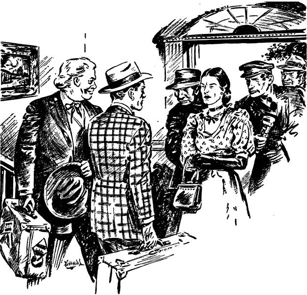 Dime Detective June 1943 - The Doctor's Ditch - Richard Dermody - illustration by Pete Kuhlhoff