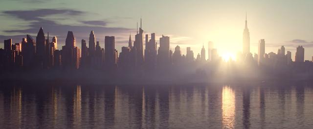 Pixar Soul skyline New York