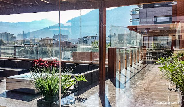 Terraço do Best Western Plus 93 Park Hotel, em Chapinero, Bogotá
