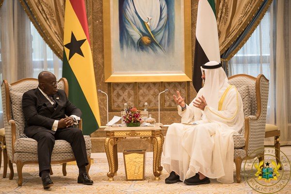 Ghana, UAE Pledge To Deepen Bilateral Ties; Sign 5 Co-Operation Agreements