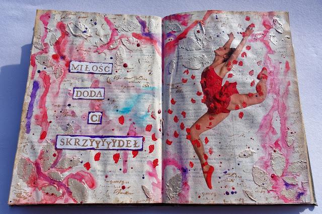 Art-journal o miłości