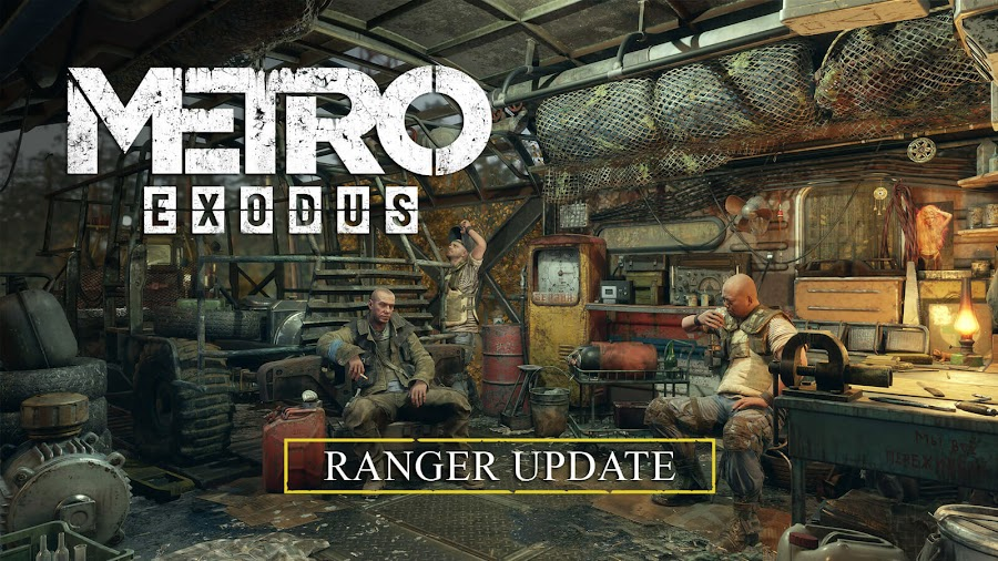 metro exodus new game plus free ranger update