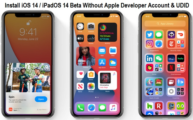 Install iOS 14 Beta Without Developer Account