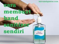 Cara Membuat Hand Sanitizer Sendiri Pencegah Bakteri dan Virus