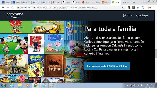 AMAZON PRIME VIDEO- Disney como Alladin, Capitão Marvel, Avengers End Game, Toy Story 4 e Rei Leão