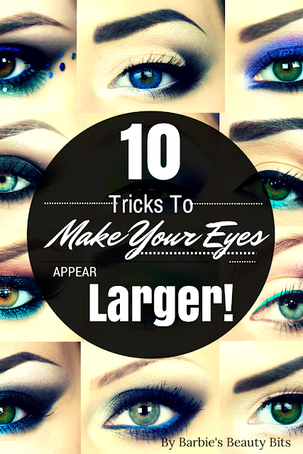 10 Makeup Tricks To Make Your Eyes Appear Larger, by Barbies Beauty Bits