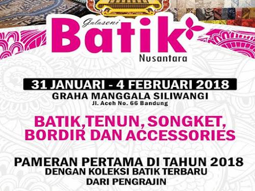 Galaseni Batik Nusantara 2018