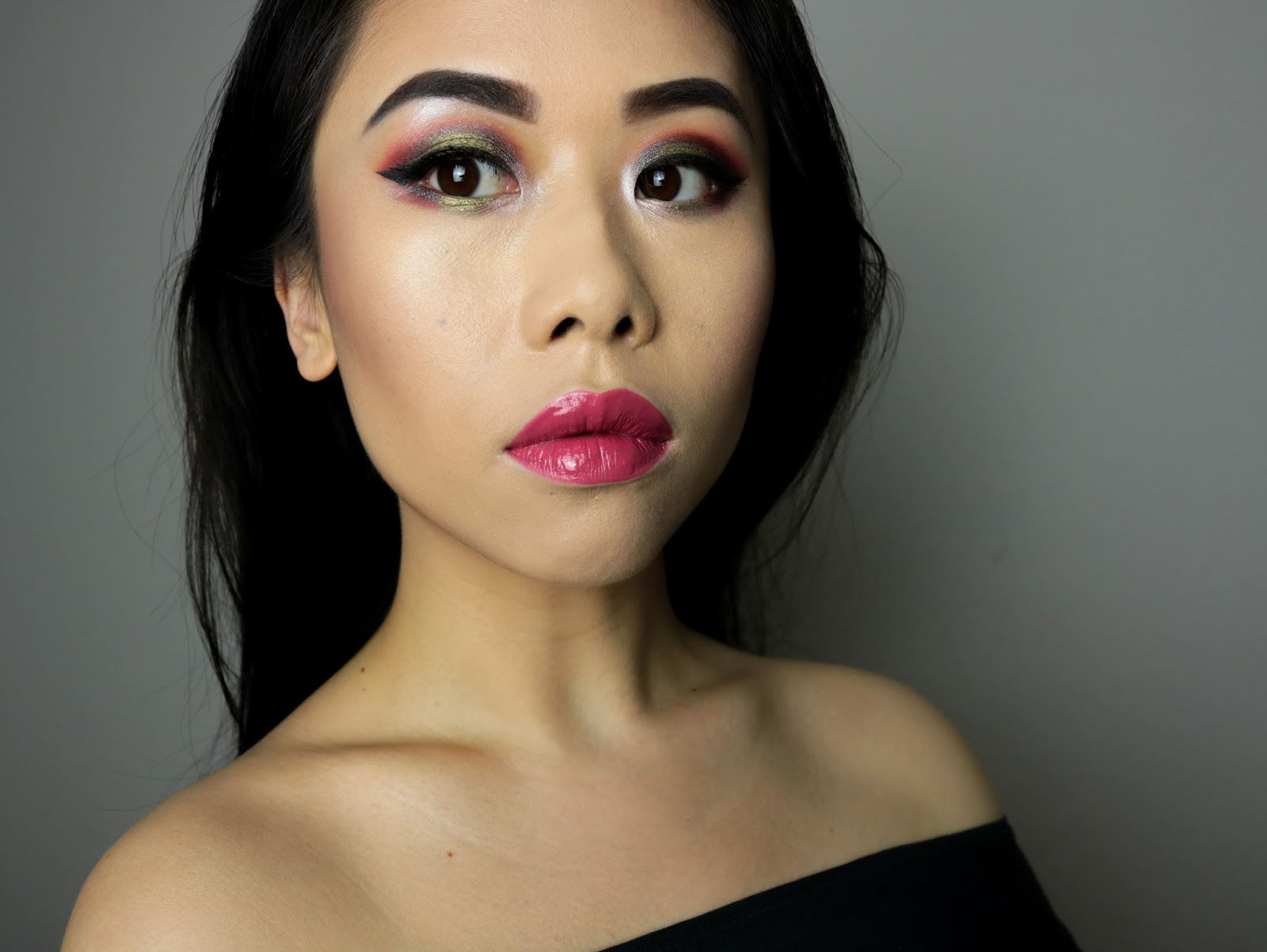 Bring me to Mars | Monday Shadow Challenge Jester Makeup Geek