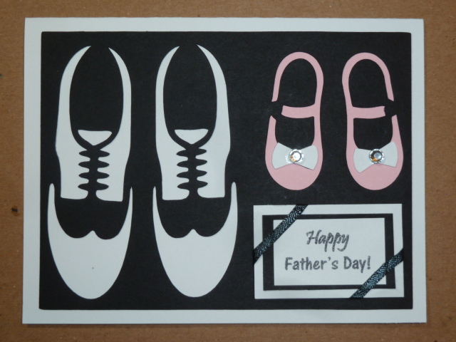 Designs by Dragonfly Father\u0027s Day Card ~ Father and Daughter