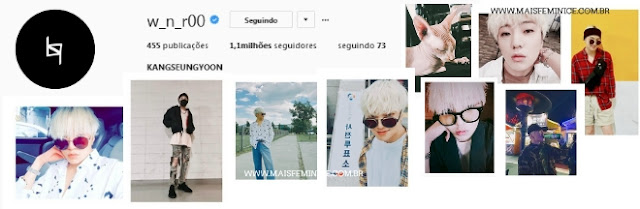 Instagram do Seungyoon