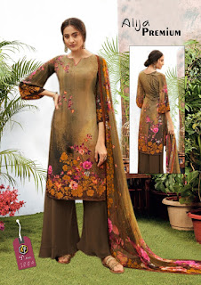 Keval fab Alija Premium luxury Cotton Dress