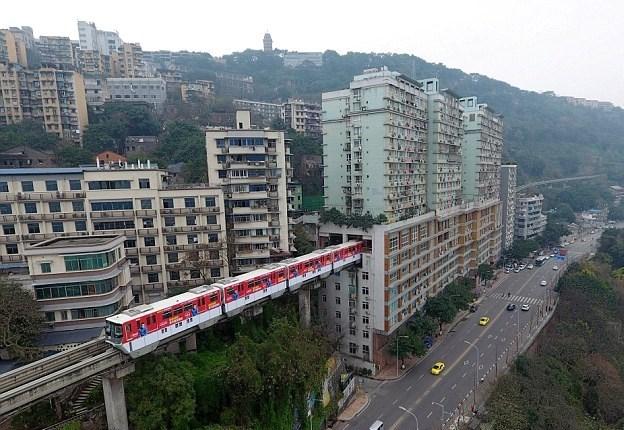 Chongqing train