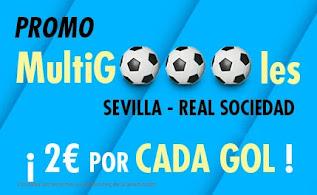 Suertia promo Sevilla vs Real Sociedad 9-1-2021