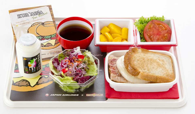 KUA 'AINA for Resort - new breakfast menu on flights from Tokyo Haneda to Honolulu