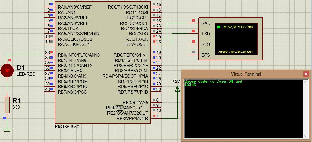 PIC Microcontroller Tutorial: Serial Communication