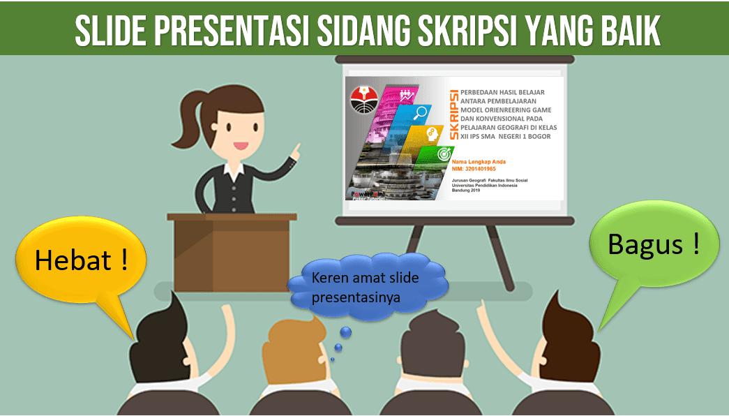 Contoh Slide Presentasi Yang Baik Untuk Sidang Skripsi Atau Tesis