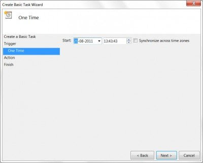 Menggunakan task schedule3