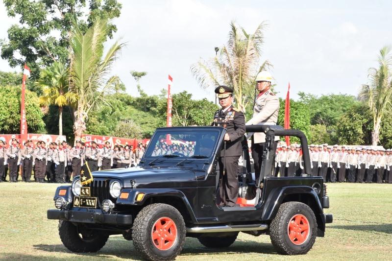 Dihadiri Gubernur dan Ketua DPRD, Kapolda Kepri Jadi Irup Hari Bhayangkara ke-73