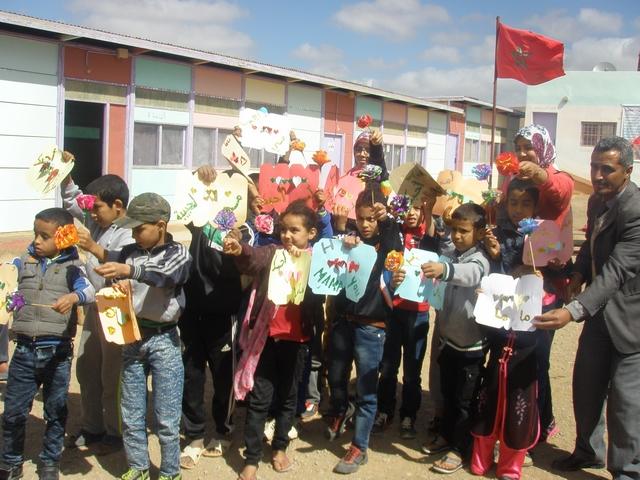 مجموعة مدارس تركى وساي بكلميم تحتفل باليوم العالمي للمرأة