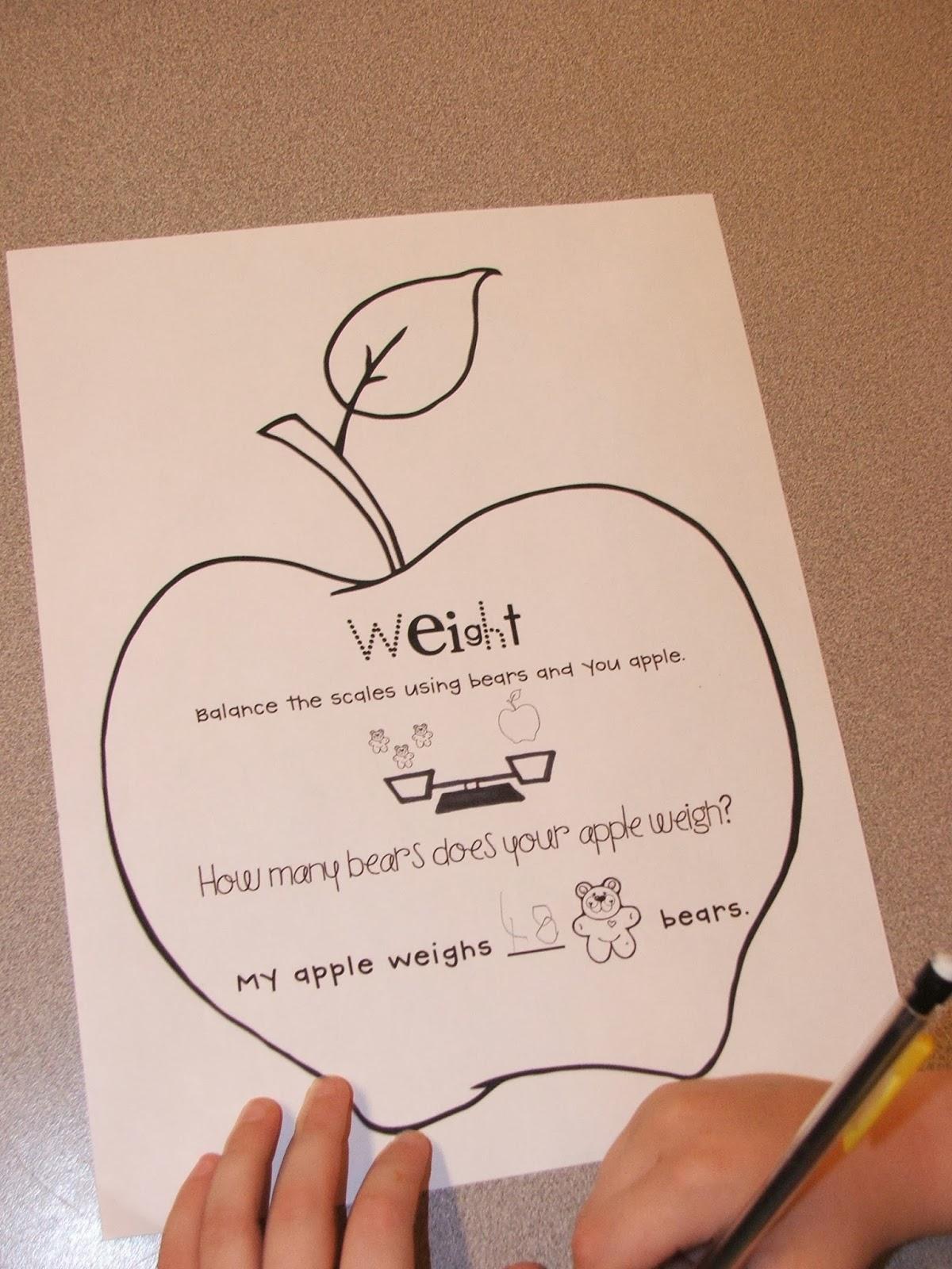 Highland Heritage Homeschool Kindergarten Apple Mania Part 2